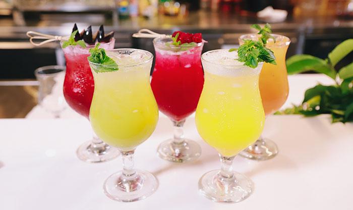Cocktails für die Topmodel Party