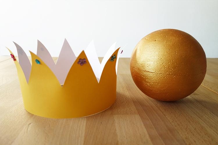 Goldene Kugel des Froschkönigs