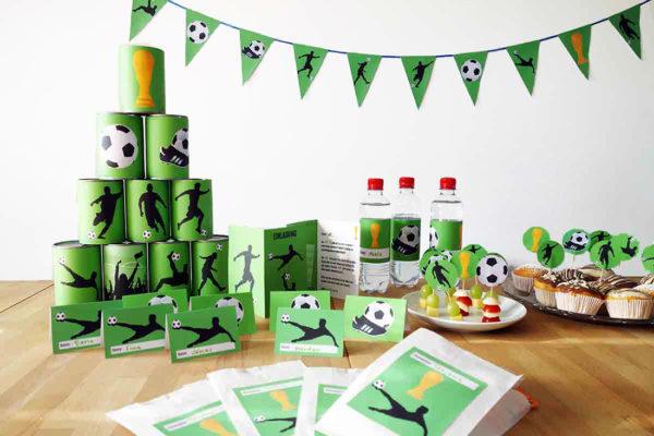 Fußball Geburtstag Komplett-Set