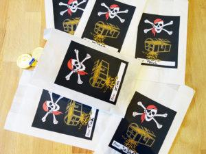 Mitgebseltüten Piratengeburtstag