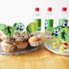 Fußballgeburtstag Dekopicker & Etiketten