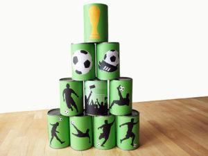 Fußball Geburtstag Spiel Dosenbanderolen