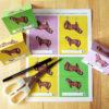 Pferdegeburtstag Namensschildchen
