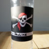 Flaschen Etiketten Pirat