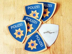Polizei Dienstmarke