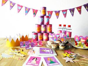 Prinzessin Party Komplett-Set