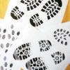 Fußabdrücke und Fingerabdrücke zum Ausdrucken