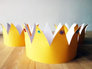 Krone Bastelvorlage