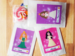 Prinzessin Party Mitgeseltüten