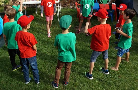 Mario Party Geburtstag Spiele