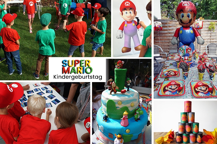 Super Mario Kindergeburtstag