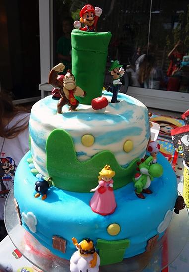 Super Mario Torte