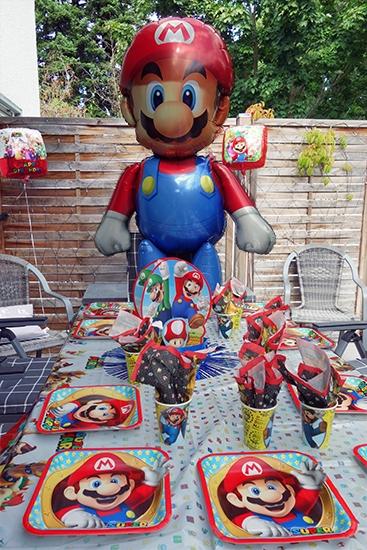 Super Mario Geburtstagsdeko